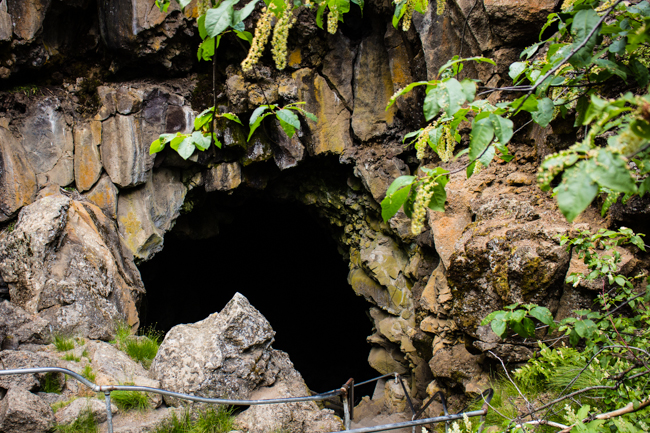 lava tubes bend oregon