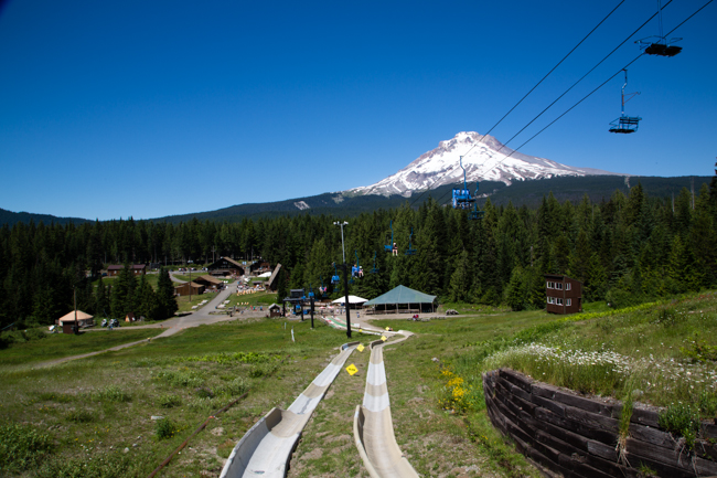 year round ski and snowboarding at Mt. Hood