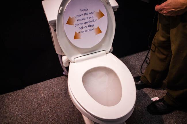 cool toilet seat