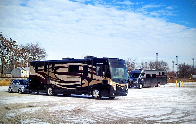 moving into a new rv