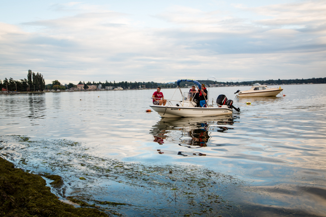 crabbing in washington