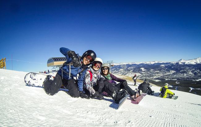 Board Breckenridge Colorado