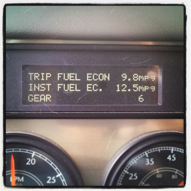 tracking RV MPG