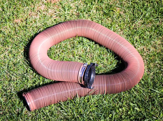 crappy dump hose