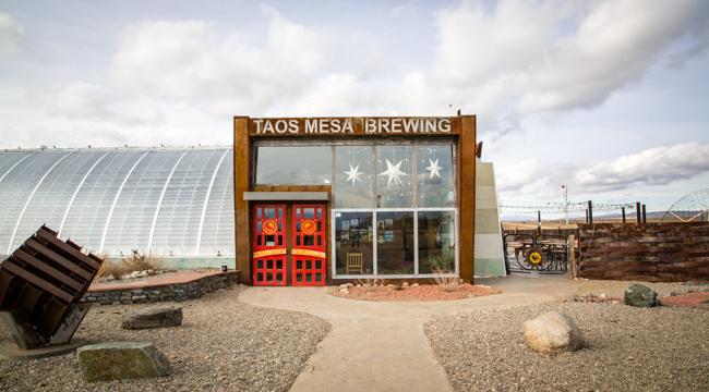 best patio and beer in taos
