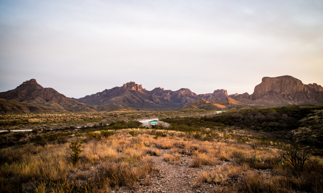 wild camping big bend national park