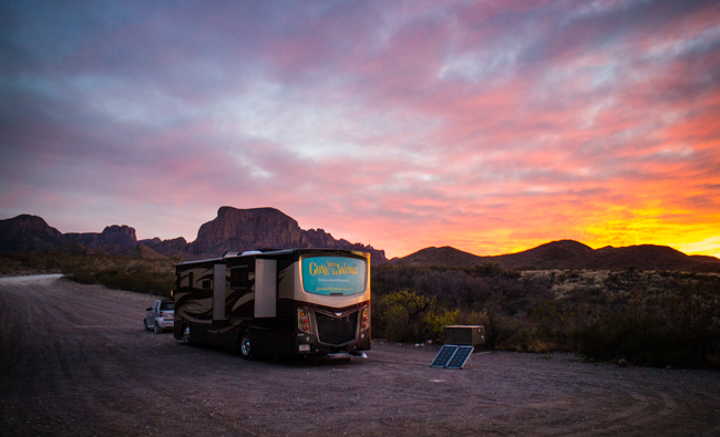 best camping big bend national park