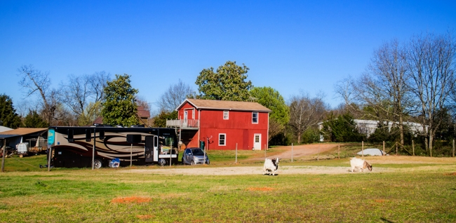 free farm stay for rv