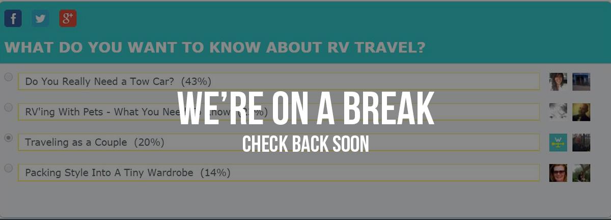 poll break