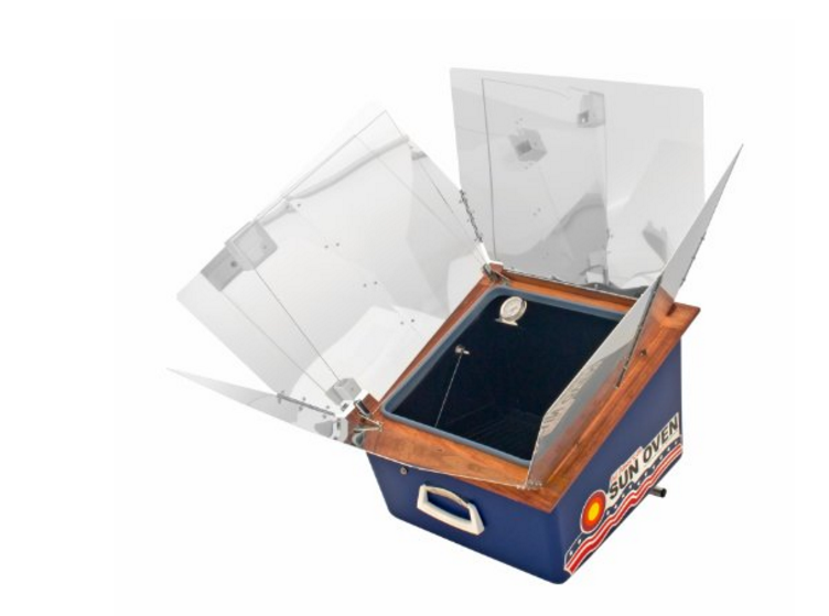 rv solar powered oven