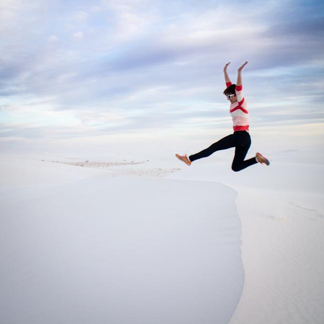 white sands jump