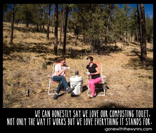 composting toilet love