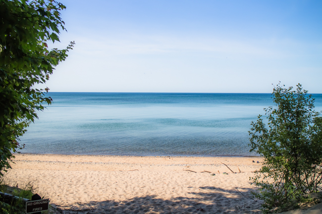 Michigan beaches
