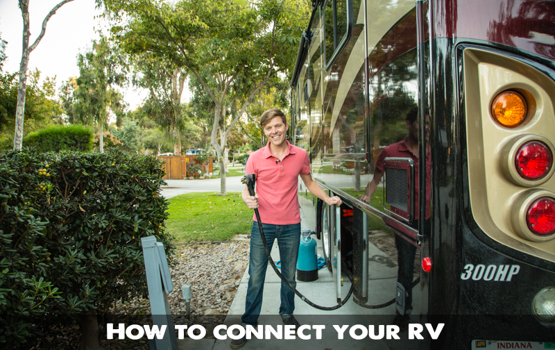 Full hookup rv parks near me