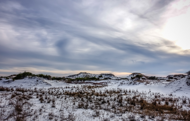 best hiking topsail hill state park