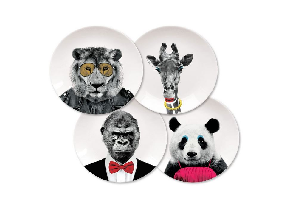 wild dining plates by mustard