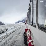 Glacier climbing bus