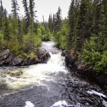 Rancheria Falls on the Alaska Highway
