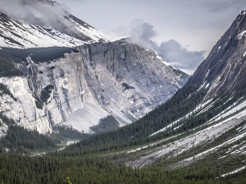 Icefields parkway rv road trip