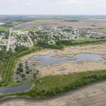 aerial dig site tour