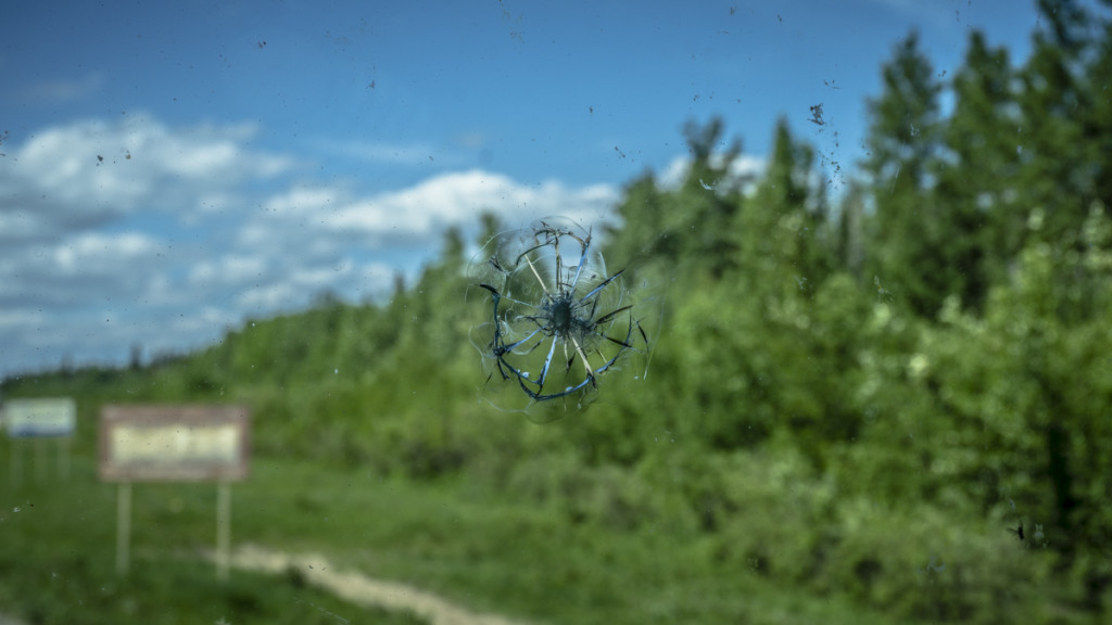 busted rv windshield