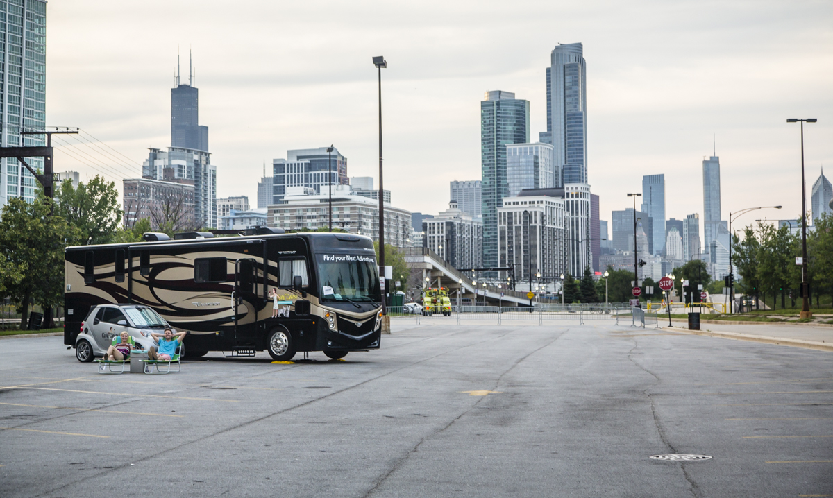 RV camping chicago