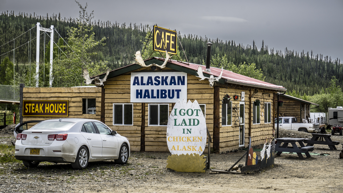 Chicken Alaska Road Trip
