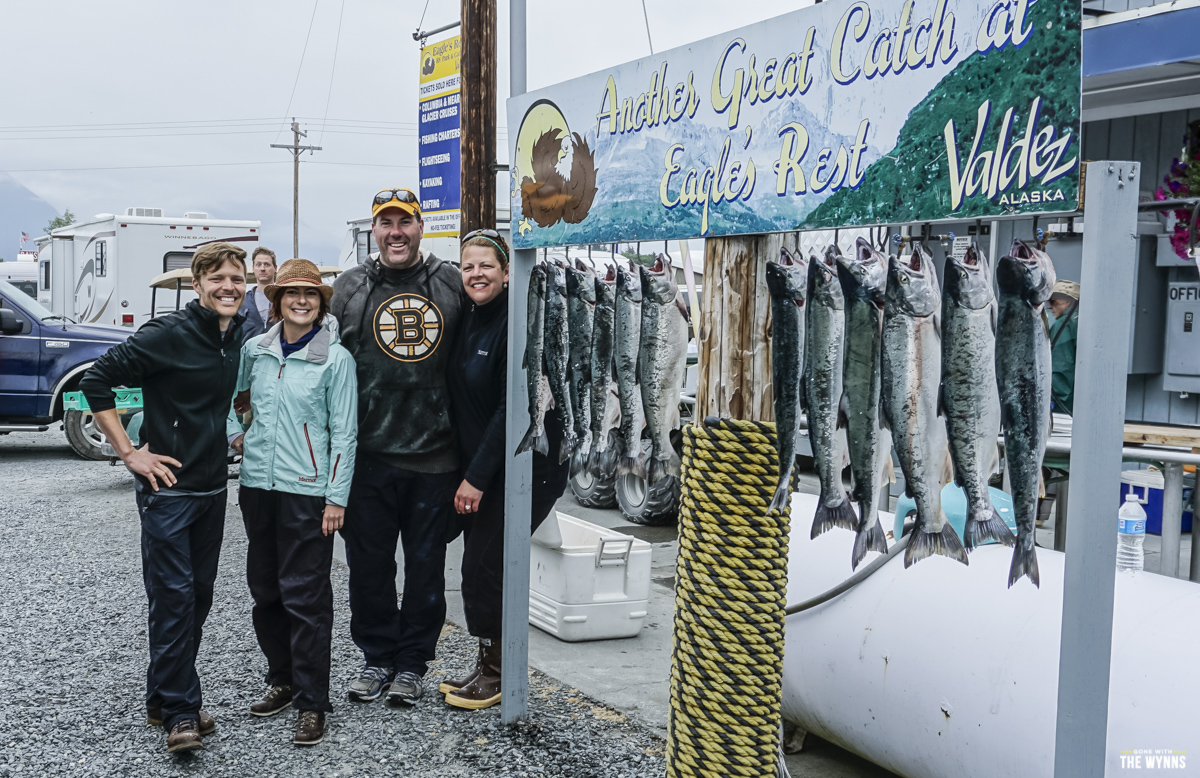 silver salmon catch