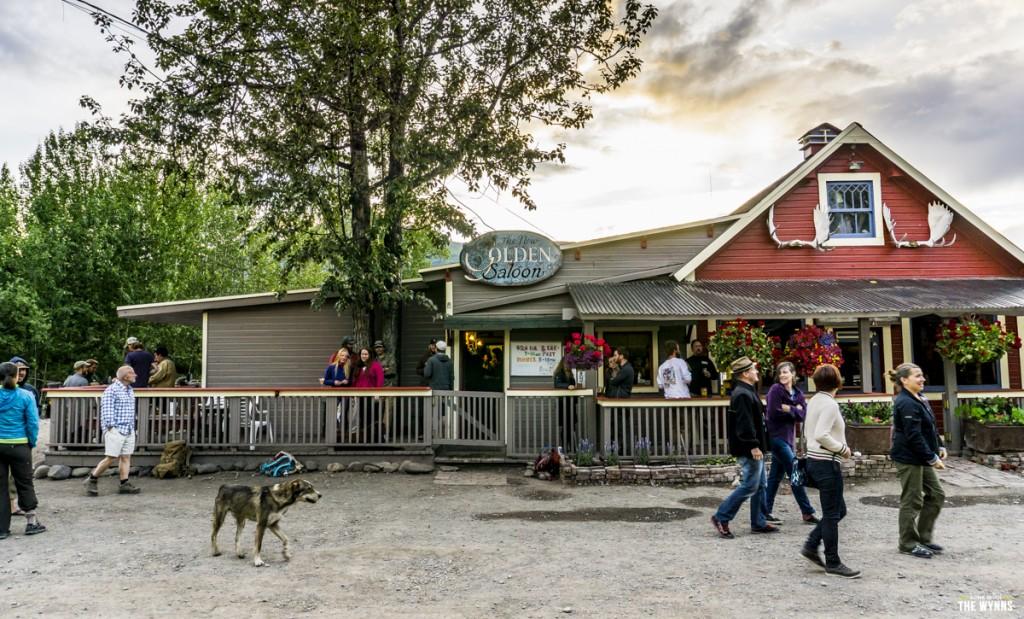 old mining town of McCarthy Alaska