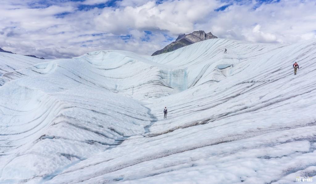 root glacier alaska hike