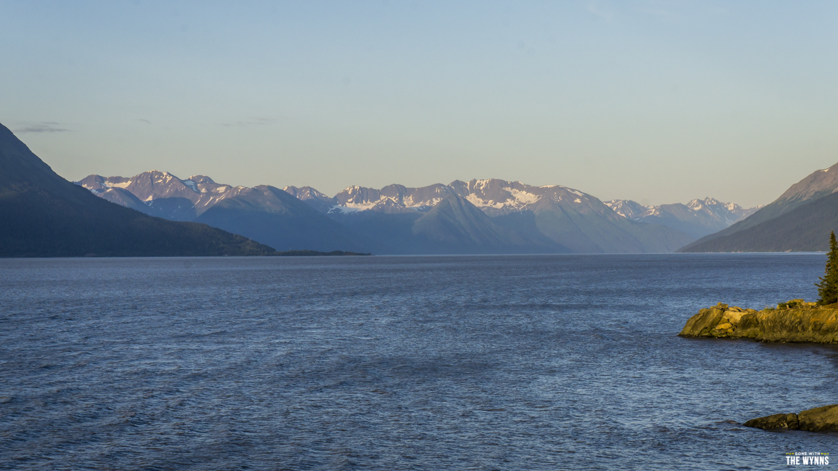 Road trip Hope Alaska