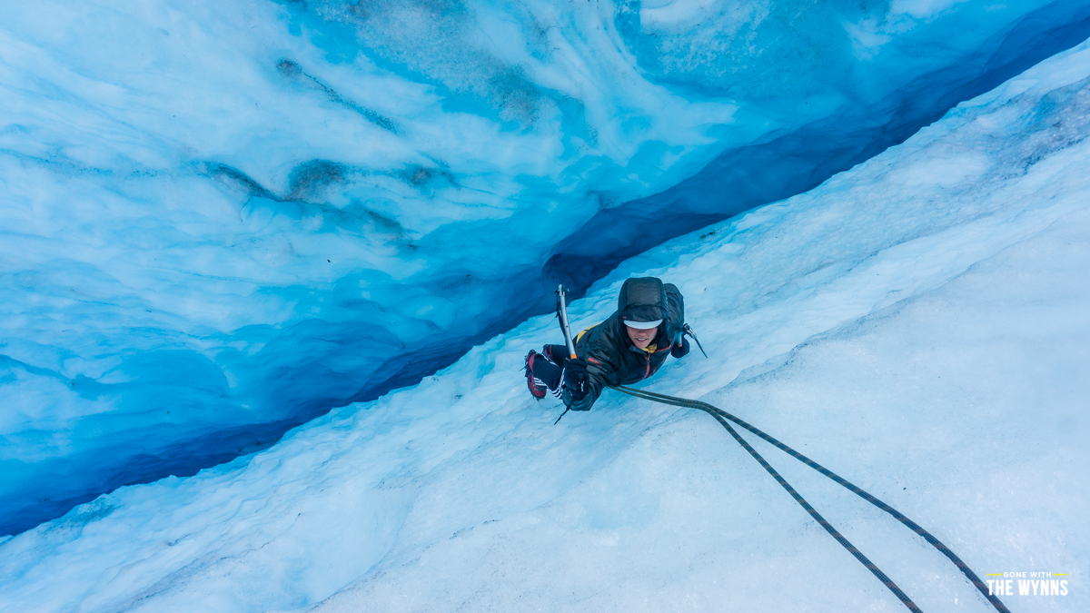 exit glacier ice climb