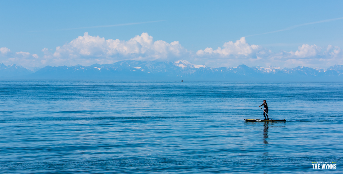 stand up paddle board alaska