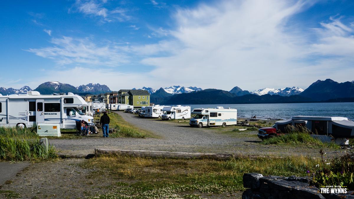 homer alaska spit camping