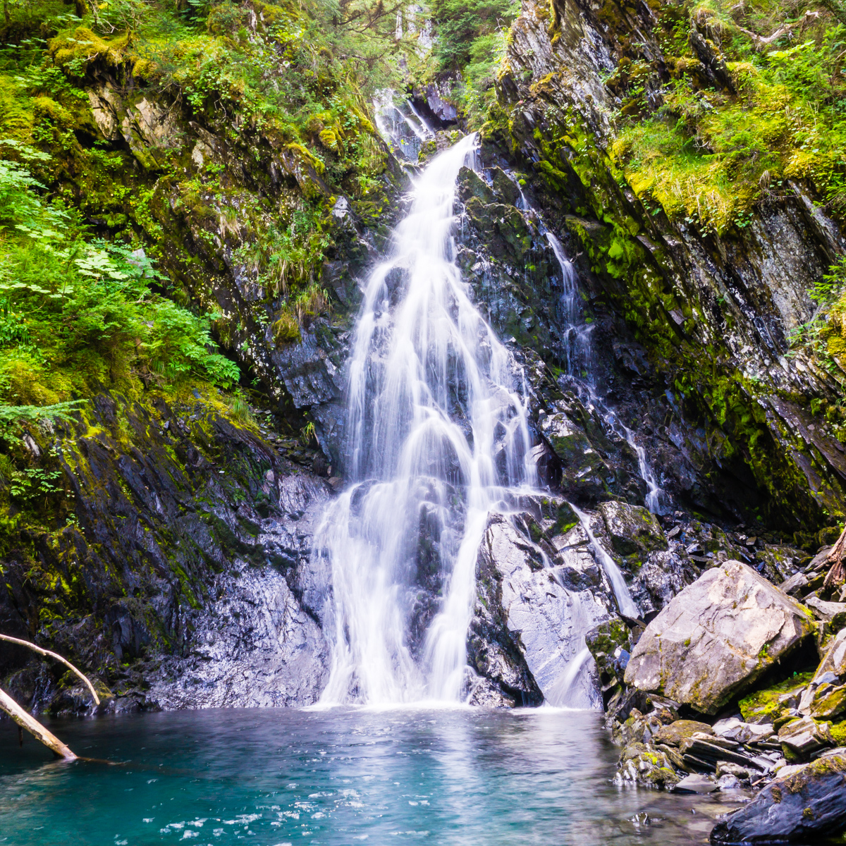 waterfall alaska