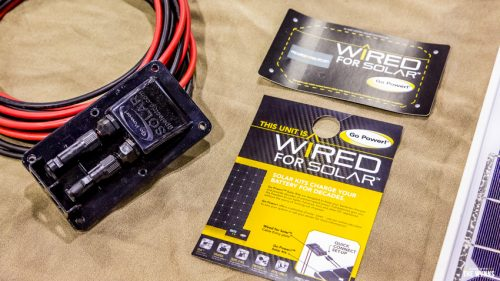 RV Solar Pre Wire kit