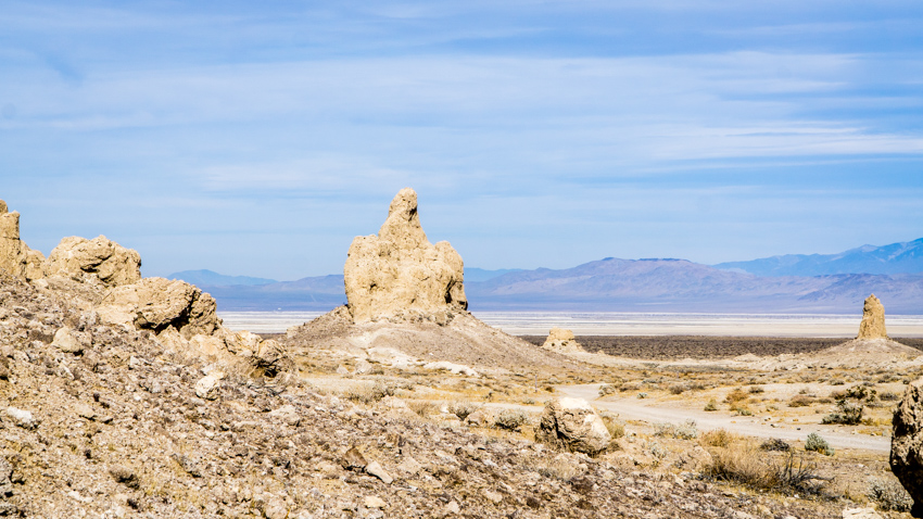 rv road trip to trona pinnacles
