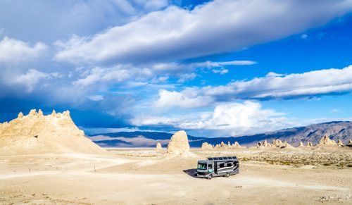 Free Wild Camping Trona Pinnacles