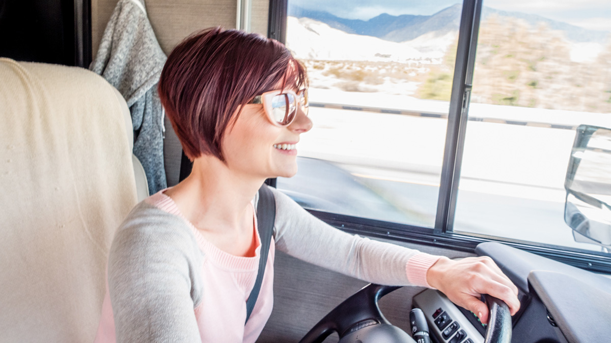 solo rv travel as a woman