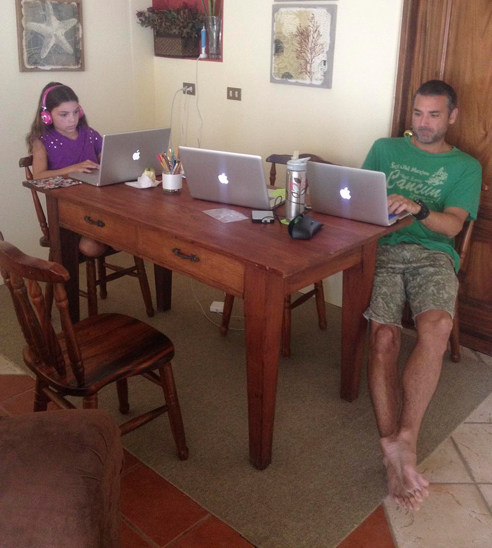 sueiro family working