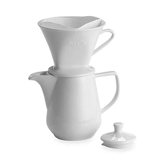 Porcelain 6 Cup Pour Over Coffee Maker - Gone With The Wynns