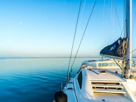 learning to sail catamaran