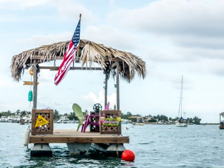 tiki party boat peanut island
