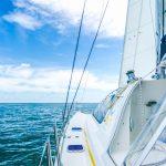 sailing life aboard a catamaran