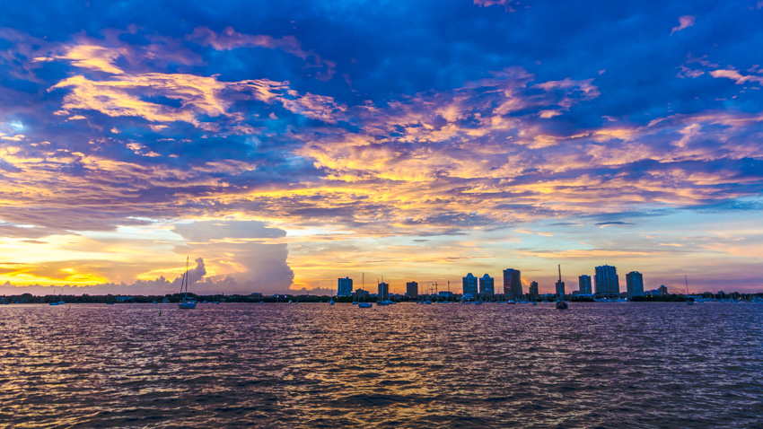 sailing south florida