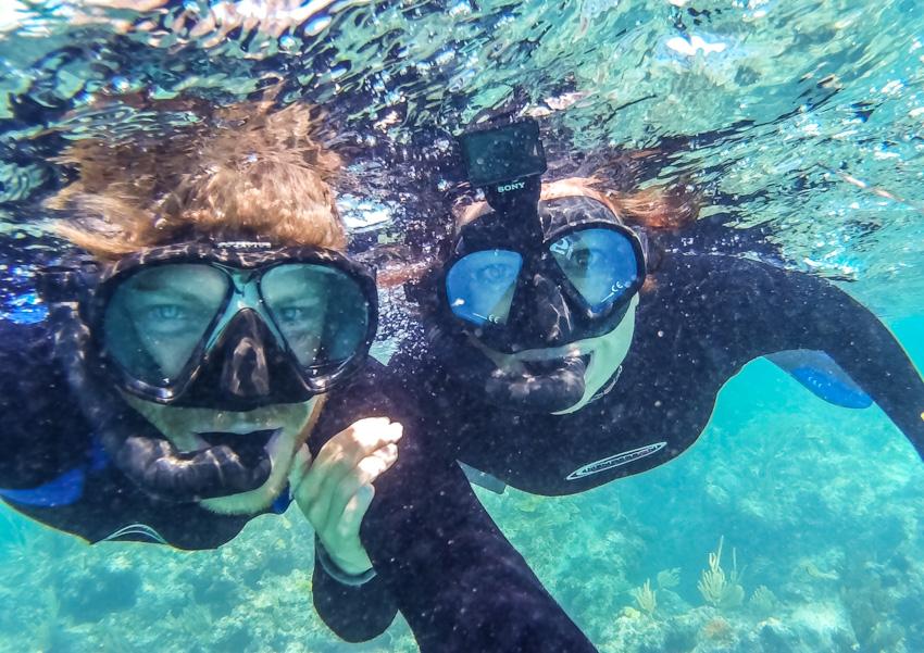 snorkeling moraine cay