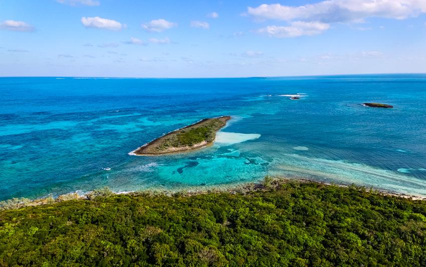 snorkeling Moriane cay bahamas