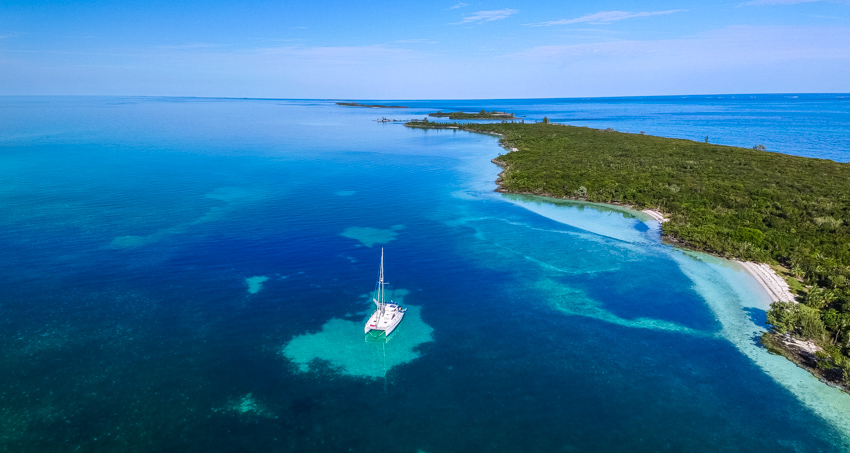 allans cay Bahamas anchorage