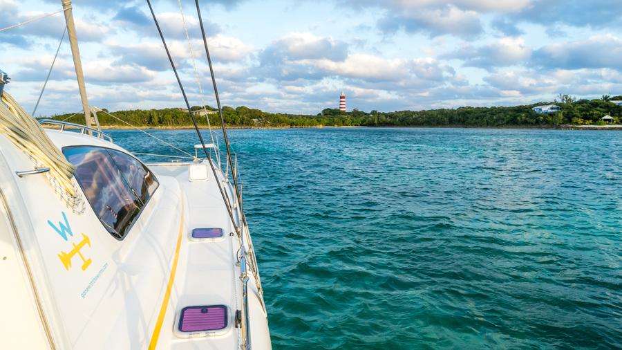 sailing hope town