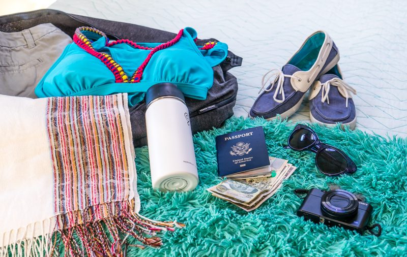 packing for sailing adventure